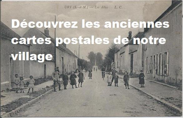 carte postale URY
